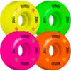 Bones Wheels 100's OG #4 V1 Multi Color Skateboard Wheels - 52mm 100a (Set of 4)