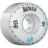 Bones Wheels SPF Linear White / Blue Skateboard Wheels - 54mm 84b (Set of 4)