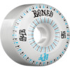 Bones Wheels SPF Linear White / Blue Skateboard Wheels - 56mm 84b (Set of 4)