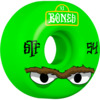 Bones Wheels STF V1 Mean Greens Green Skateboard Wheels - 54mm 83b (Set of 4)