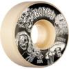 Bones Wheels STF Night Watch Easy Streets V1 White Skateboard Wheels - 53mm 99a (Set of 4)