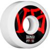 Bones Wheels STF V5 Annuals White Skateboard Wheels - 51mm 103a (Set of 4)