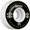 Bones Wheels Leticia Bufoni Pro STF Live 2 Ride V1 White / Black Skateboard Wheels - 54mm 103a (Set of 4)