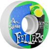 Bones Wheels Sierra Fellers Pro STF Mist White Skateboard Wheels - 52mm 83b (Set of 4)