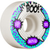 Bones Wheels Boo Johnson STF V4 Raps White Skateboard Wheels - 53mm 103a (Set of 4)