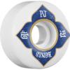 Bones Wheels PJ Ladd Pro STF V1 Lotus White Skateboard Wheels - 51mm 103a (Set of 4)