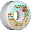 Bones Wheels Brad McClain Pro SPF Beach Bum White Skateboard Wheels - 54mm 104a (Set of 4)