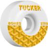 Bones Wheels Nick Tucker Pro STF Goyard White Skateboard Wheels - 54mm 83b (Set of 4)