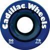 Cadillac Wheels Original Blue Skateboard Wheels - 56mm 78a (Set of 4)
