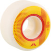 Crupie Wheels CRB White / Yellow / Red Skateboard Wheels - 52mm 101a (Set of 4)
