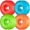 Mini Logo A-Cut Green / Red / Blue / Orange Skateboard Wheels - 52mm 101a (Set of 4)