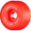 Mini Logo A-Cut Red Skateboard Wheels - 54mm 101a (Set of 4)