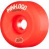 Mini Logo A-Cut Red Skateboard Wheels - 55mm 101a (Set of 4)