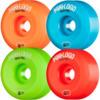 Mini Logo A-Cut Green / Red / Blue / Orange Skateboard Wheels - 56mm 101a (Set of 4)