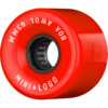 Mini Logo ATF A.W.O.L Red Skateboard Wheels - 63mm 80a (Set of 4)