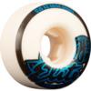 OJ Wheels Elite EZ Edge White Skateboard Wheels - 52mm 101a (Set of 4)