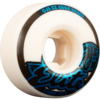 OJ Wheels Elite EZ Edge White Skateboard Wheels - 53mm 101a (Set of 4)