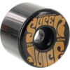 OJ Wheels Super Juice Black / Orange Skateboard Wheels - 60mm 78a (Set of 4)