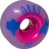 Orbs Wheels Poltergeist Purple / Pink Skateboard Wheels - 55mm 99a (Set of 4)