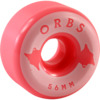 Orbs Wheels Specters Solid Coral Skateboard Wheels - 56mm 99a (Set of 4)