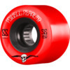 Powell Peralta G-Slides Red / Black Skateboard Wheels - 56mm 85a (Set of 4)