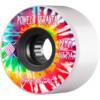 Powell Peralta Byron Essert Tie Dye White Skateboard Wheels - 72mm 75a (Set of 4)
