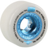 Ricta Wheels Chrome Clouds White / Blue Skateboard Wheels - 54mm 78a (Set of 4)