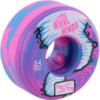 Ricta Wheels Whirlwinds Blue / Pink Swirl Skateboard Wheels - 54mm 99a (Set of 4)