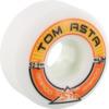 Ricta Wheels Tom Asta Pro Rapido Slim White Skateboard Wheels - 52mm 99a (Set of 4)