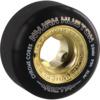 Ricta Wheels Nyjah Huston Chrome Core Slim Black / Gold Skateboard Wheels - 53mm 99a (Set of 4)
