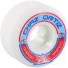 Ricta Wheels Chaz Ortiz Pro Rapido Wide White Skateboard Wheels - 52mm 99a (Set of 4)