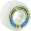 Ricta Wheels Yoshi Tanenbaum Pro Rapido Slim White Skateboard Wheels - 52mm 99a (Set of 4)