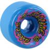 Santa Cruz Skateboards Slimballs Gooberz Blue Skateboard Wheels - 60mm 97a (Set of 4)