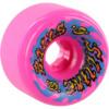Santa Cruz Skateboards Slimballs Gooberz Pink Skateboard Wheels - 60mm 97a (Set of 4)