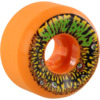 Santa Cruz Skateboards Slimeballs Munchers Neon Orange Skateboard Wheels - 53mm 97a (Set of 4)