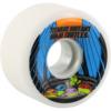 Santa Cruz Skateboards Slimeballs OG Slime TMNT White Skateboard Wheels - 60mm 78a (Set of 4)