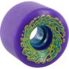 Santa Cruz Skateboards Slimeballs OG Slime Neon Purple Skateboard Wheels - 66mm 78a (Set of 4)