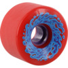 Santa Cruz Skateboards Slimeballs OG Slime Red / Purple Skateboard Wheels - 66mm 78a (Set of 4)