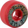 Santa Cruz Skateboards Slimeballs Slime Time Speed Balls Red Skateboard Wheels - 55mm 99a (Set of 4)