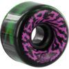 Santa Cruz Skateboards Slimeballs Swirly Black / Green / W / Pink / Purple Skateboard Wheels - 65mm 78a (Set of 4)