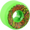 Santa Cruz Skateboards Vomits Mini Slime Balls Pukaroni Green Skateboard Wheels - 53mm 97a (Set of 4)