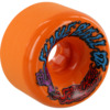 Santa Cruz Skateboards Slimeballs Vomits Orange Skateboard Wheels - 60mm 97a (Set of 4)