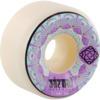 Satori Movement Mandala White / Purple Skateboard Wheels - 53.5mm 101a (Set of 4)