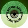 Sector 9 Lumithane Glow / LED Green Light Up Longboard Wheels - 67mm 78a (Set of 4)