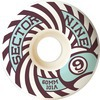 Sector 9 Park Formula White Longboard Skateboard Wheels - 60mm 101a (Set of 4)