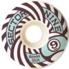 Sector 9 Park White Skateboard Wheels - 60mm 101a (Set of 4)