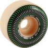 Spitfire Wheels Formula Four Radial Slims Venomous Natural / Green Skateboard Wheels - 51mm 101a (Set of 4)