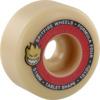 Spitfire Wheels Formula Four Tablets Natural / Red Skateboard Wheels - 51mm 101a (Set of 4)