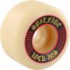 Spitfire Wheels Formula Four Lock-Ins White / Red Skateboard Wheels - 52mm 101a (Set of 4)