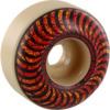 Spitfire Wheels Formula Four Classic Embers Natural Skateboard Wheels - 52mm 99a (Set of 4)